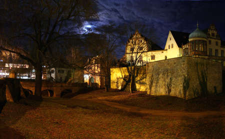 The beautiful castle in Darmstadt, Germany photo