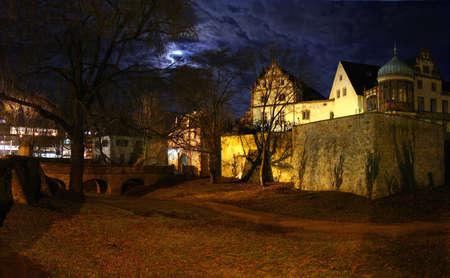 The beautiful castle in Darmstadt, Germany