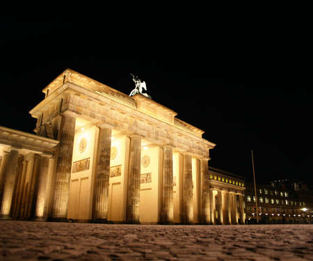 brandenburg: Brandenburg Gate at night