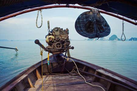 phuket province: Boat with motor