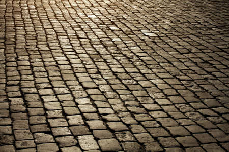 paved: Cobblestone. Paving stones texture.