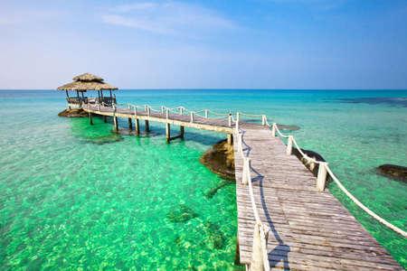 paradise beach: beautiful paradise tropical beach