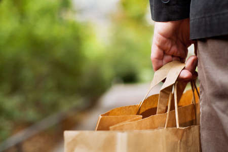 shopping Standard-Bild