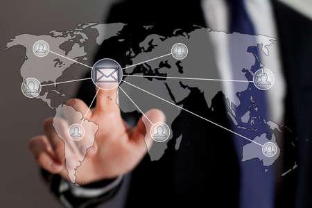 liste de courrier, le concept de marketing par courriel