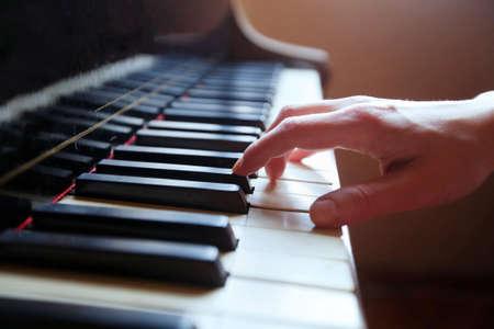 piano closeup: classical music