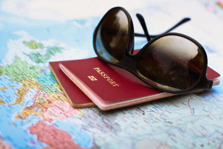 plan your travel Standard-Bild