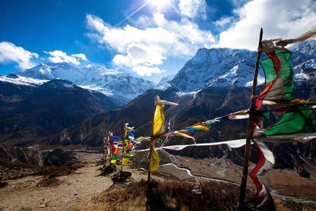 tibetian: Himalaya mountains, Nepal