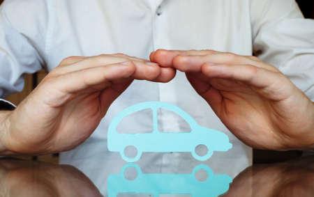 Le concept d'assurance automobile Banque d'images - 53072510