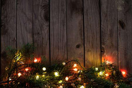 Światła: Nowy Rok w tle