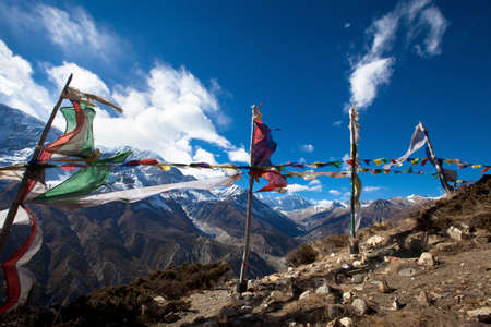 tibetian: trekking in Nepal