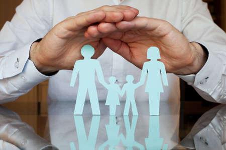Concept d'assurance Banque d'images - 53082921