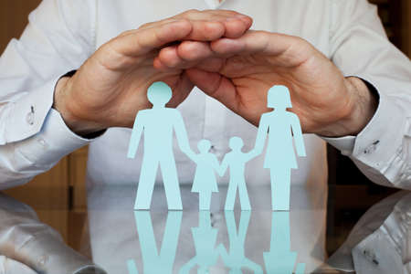 Family doctor: insurance concept