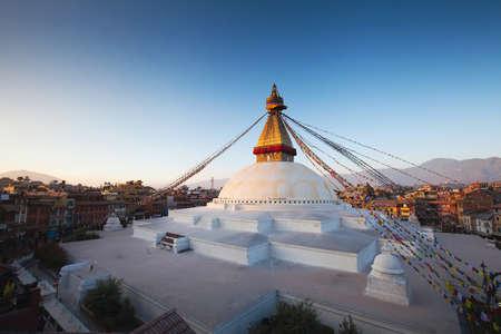kathmandu: Boudhanath stupa in Kathmandu, Nepal