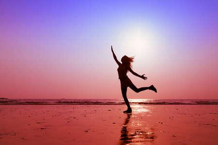 glückliche Menschen, das Konzept der gesunden Lebensstil Standard-Bild