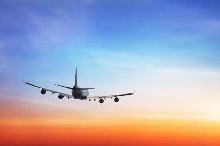 Antecedentes de viaje, líneas aéreas internacionales Foto de archivo