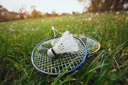 badminton racket: badminton