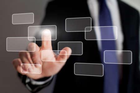 touch screen: touch screen interface technology