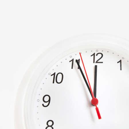 black clock hands: time concept