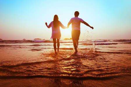 dream honeymoon Stockfoto