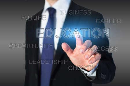 choose university: business education concept, professional growth