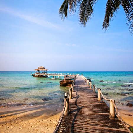 kood: beautiful beach on Koh Kood island, Thailand Stock Photo