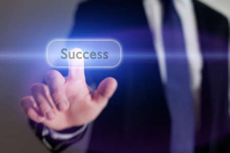 career development: success concept