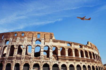 plane: travel to Italy