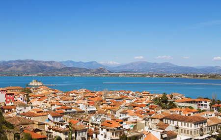 nafplio: Nafplio panoramic view, Greece