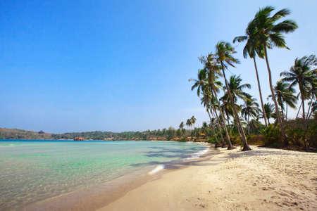 kood: beautiful beach on Koh Kood island in Thailand