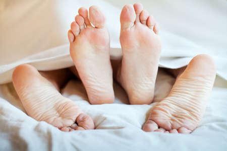 samen slapen Stockfoto