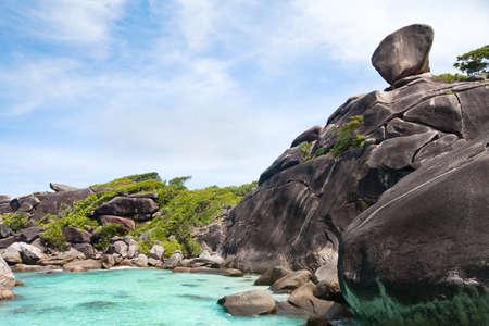 beautiful paradise beach on Similan islands, Thailand
