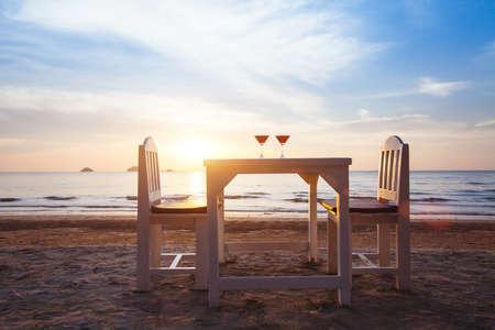 luxurious beach restaurant, romantic place for honeymoon