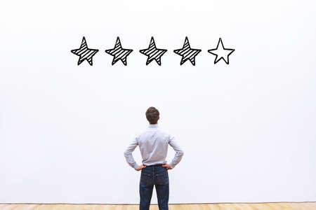 Rating-Konzept Standard-Bild - 77492169