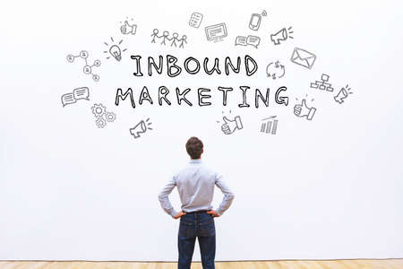 Inbound marketing concept Stockfoto - 77492161