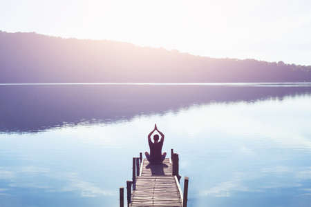 meditation and yoga background