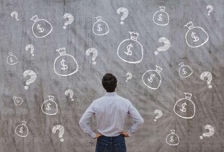 시작, 사업 개념을위한 돈