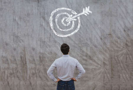 business target concept Stockfoto