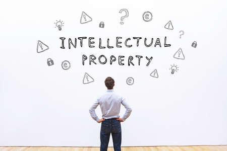 intellectueel eigendom concept