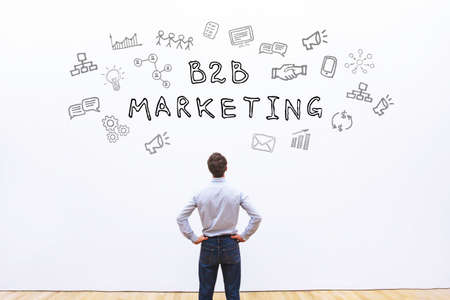 b2b marketing concept Фото со стока - 82504047