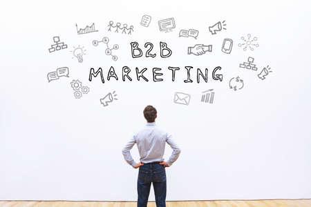 B2B-Marketing-Konzept Standard-Bild - 82504047