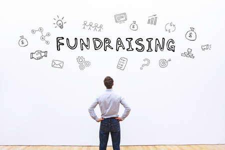 fundraising concept Reklamní fotografie - 82503772