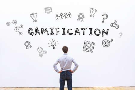 gamification concept Archivio Fotografico