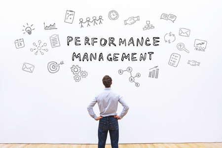 performance management concept Imagens