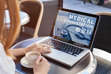 medical consultation online, doctor advice on internet