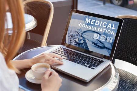 consultazione medica online, consulenza medica su internet