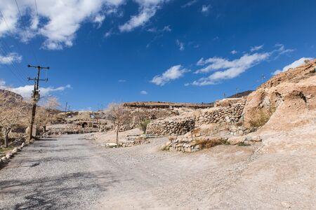 ancient village Meymand in Kerman province, Iran