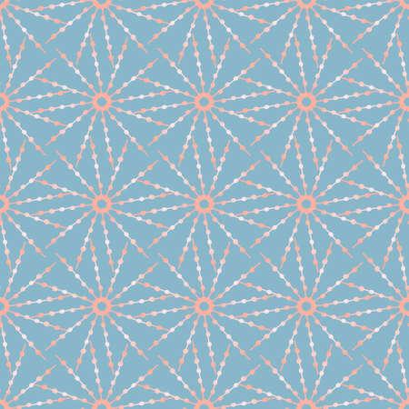 Cute pattern with gold stars of unusual shape. Иллюстрация