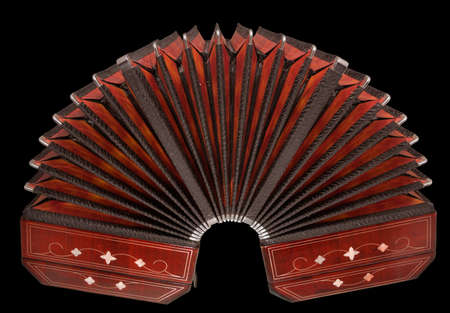 bandoneon, argentine tango instrument, wide open Stock Photo - 8683075