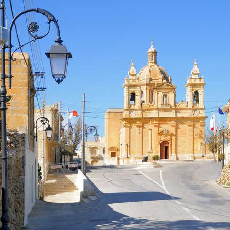 Malta, church in village Haz-Zebbug built in 17th century