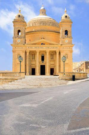 Malta, church in willage Haz-Zebbug